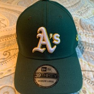 Oakland A's 50th anniversary New Era hat new tags